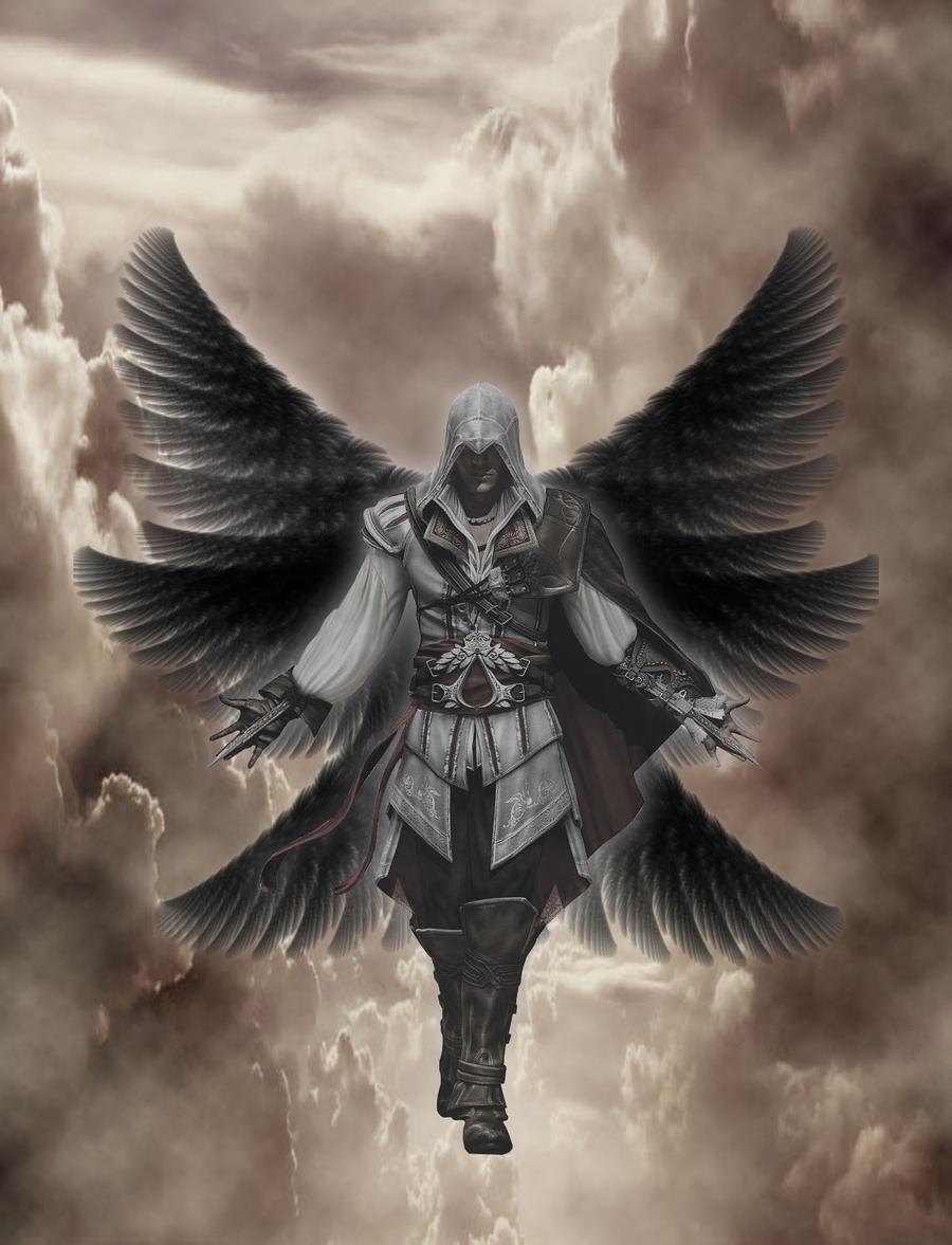 What do biblical angels look like