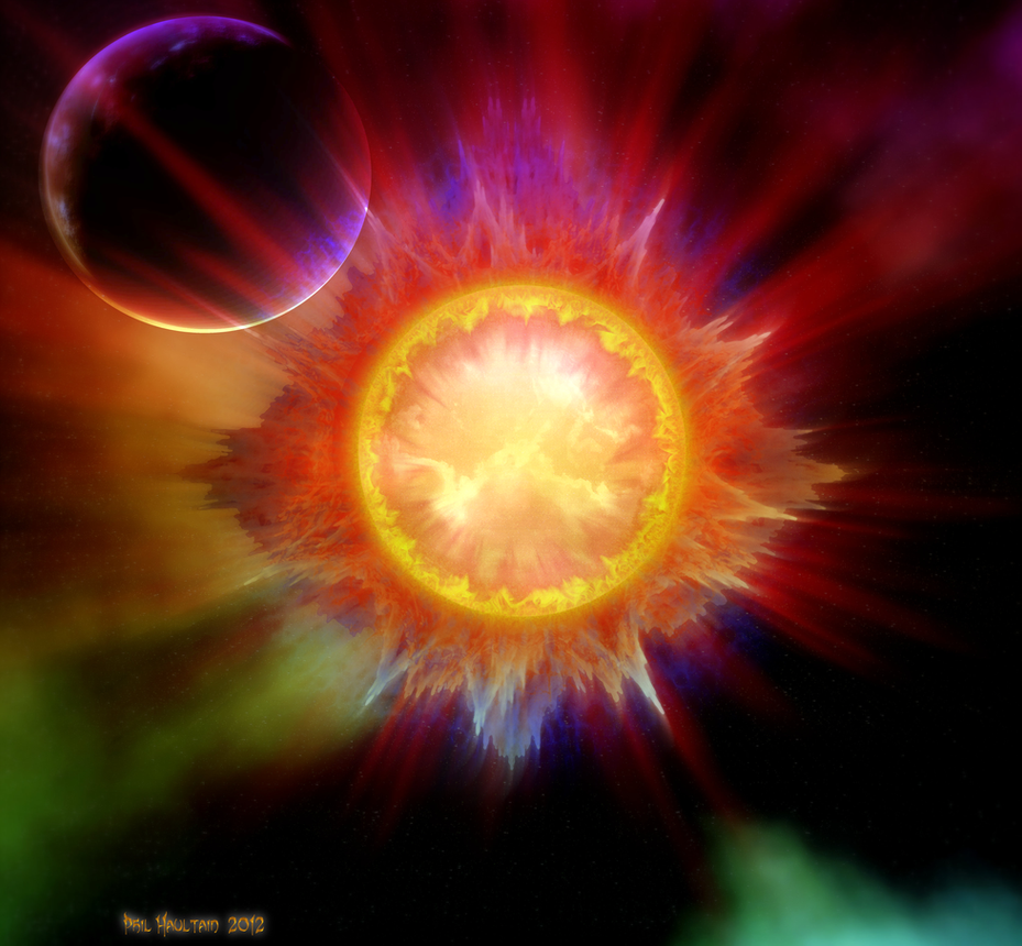 Solar Flare #6 by celsiusrising