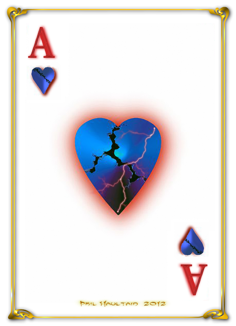 ace of hearts by celsiusrising