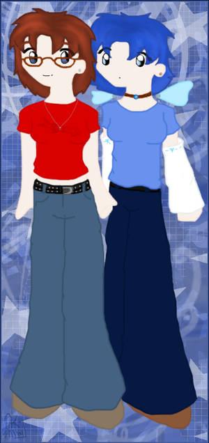 Jenn and Kayjay