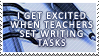 Writing Stamp