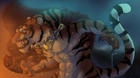 Tiger boy by larissa-the-hanyou