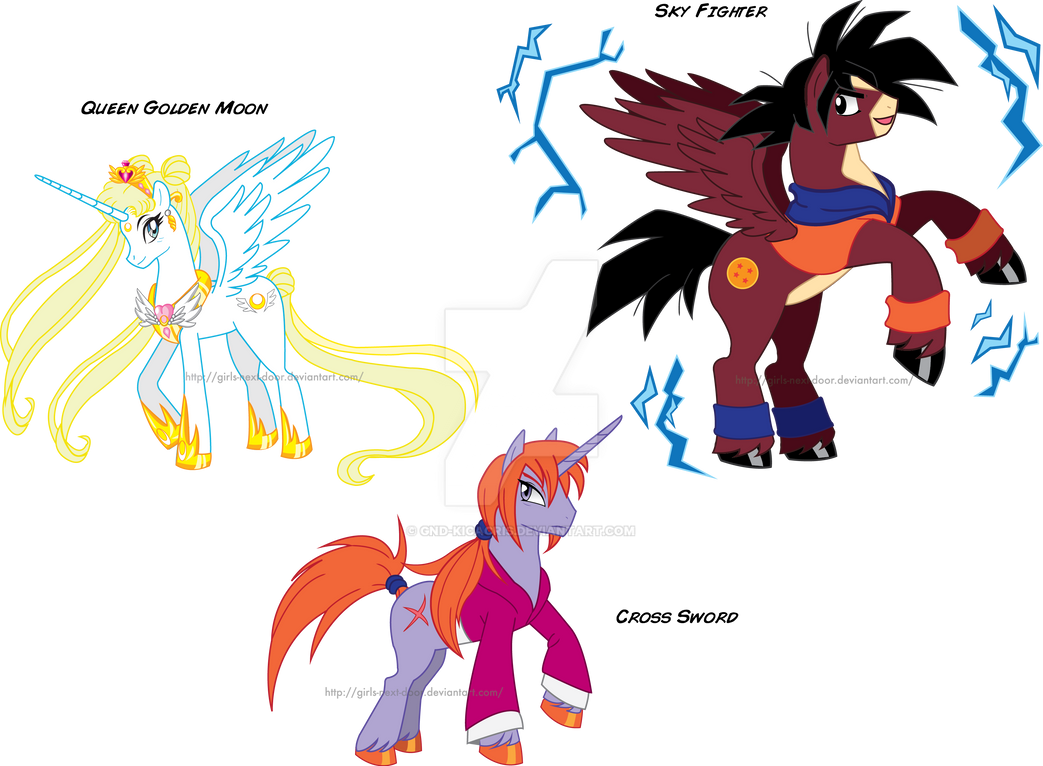 My little pony Anime is AWESOME by GND-KicaCris