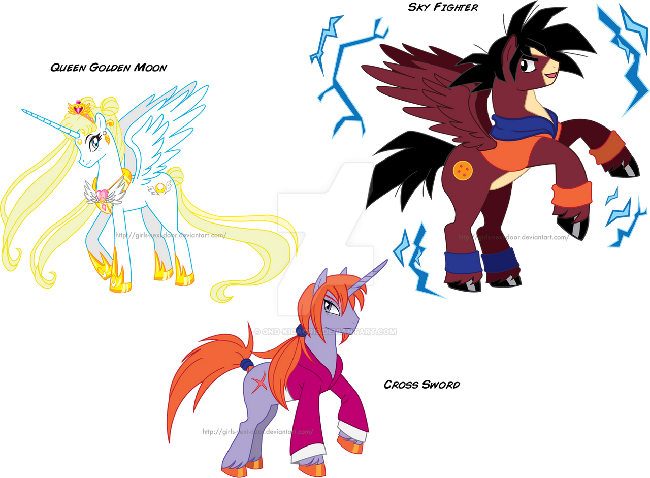 my little pony anime is awesome by gnd kicacris on deviantart