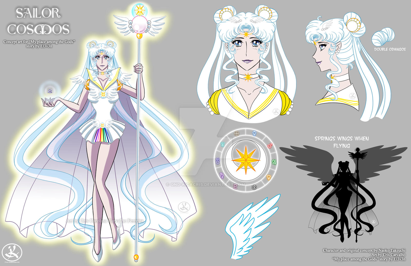 Mpatg Sailor Cosmos Concept Art By Gnd Kicacris On Deviantart