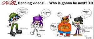 GorillaZ's Dancing videos XD by GND-KicaCris