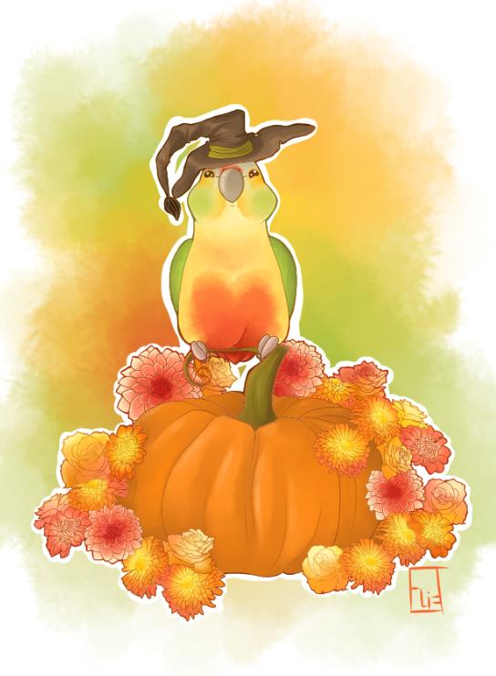 Happy b'Halloween! by Aurelya-LB