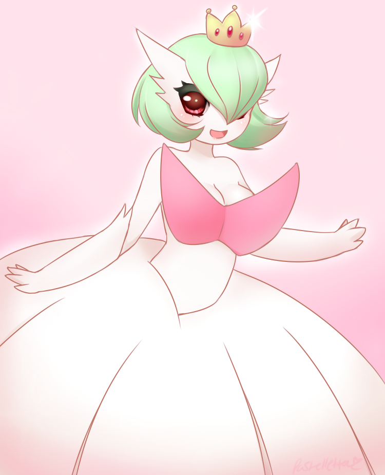 Princess Mega Gardevoir by Pastelletta