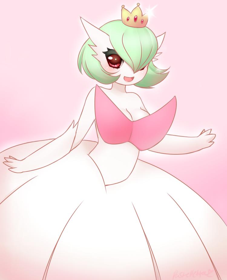 Princess Mega Gardevoir by Pastelletta