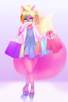 Kiwa Shopping by MeltyVixen