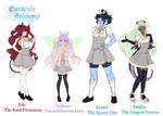 Gardenia Academy: Date-able girls concepts