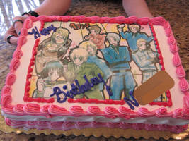 Hetalia Themed Birthday by KingOfAutumn