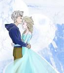 Jack Frost X Elsa Happy Valentine's Day!