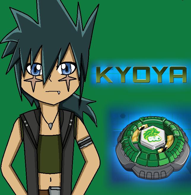 Group of Kyoya Beyblade Metal Fury
