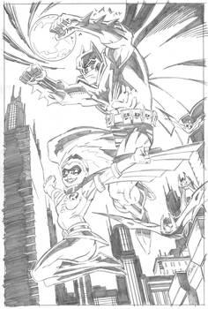 BATMAN and ROBIN (Stephanie Brown)
