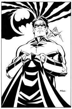 NIGHTWING and BAT-COWL