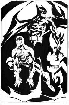 Daredevil Batman promotional art