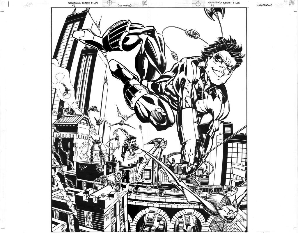Nightwing profile by ScottMcDaniel