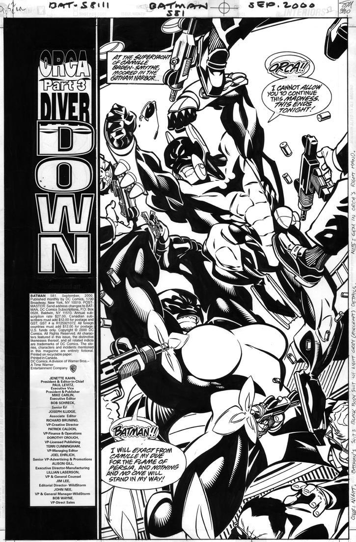 Batman #581  Page 1 by ScottMcDaniel