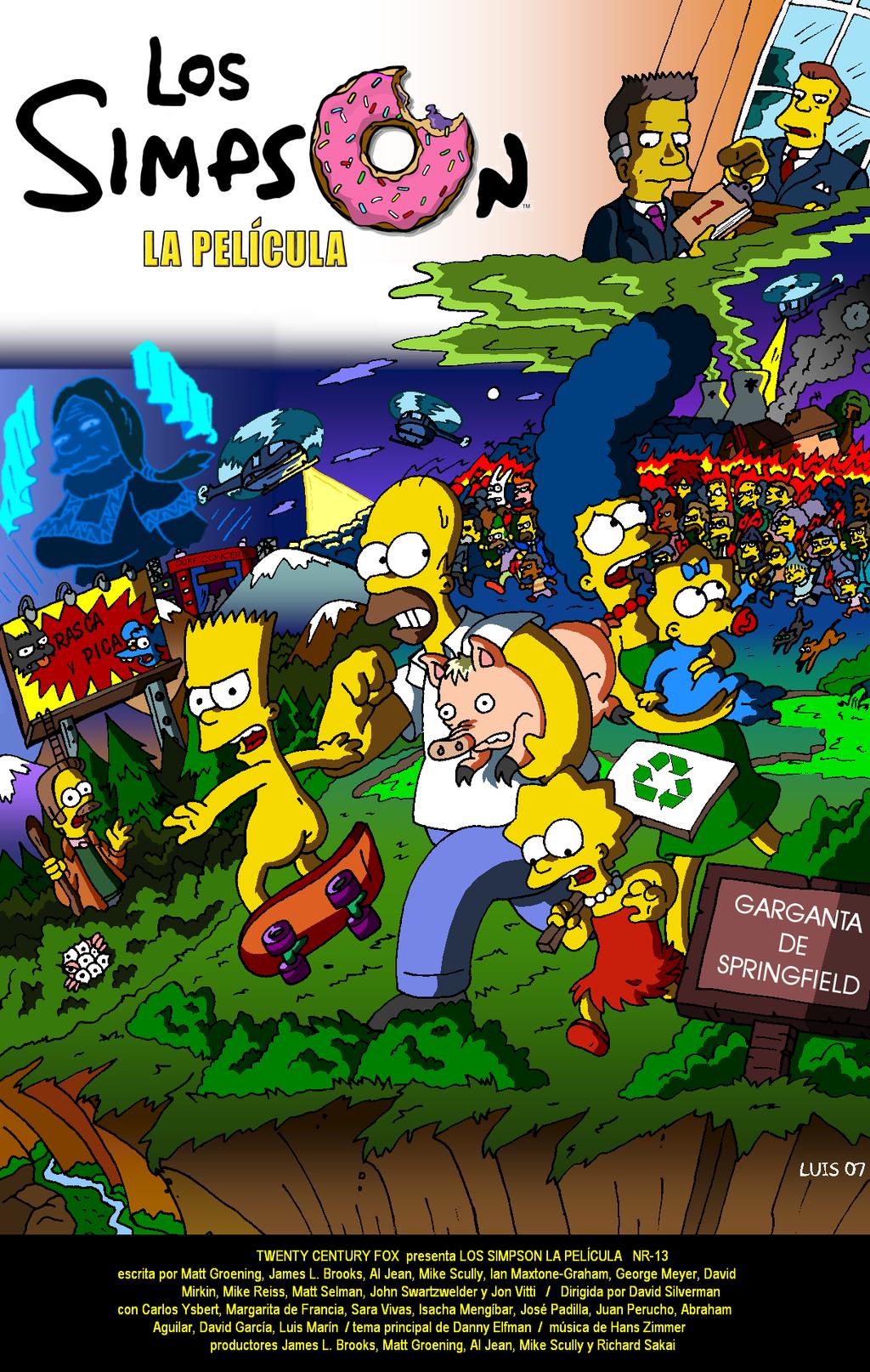 Los Simpson, la gran peli by Mosquis