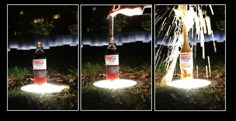 soda and mentos research Diet coke & mentos eruption the thing that makes soda drinks bubbly is the carbon dioxide that is pumped in when they bottle the drink at the factory.