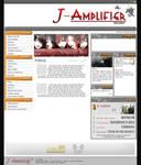 J-Amplifier Web Layout