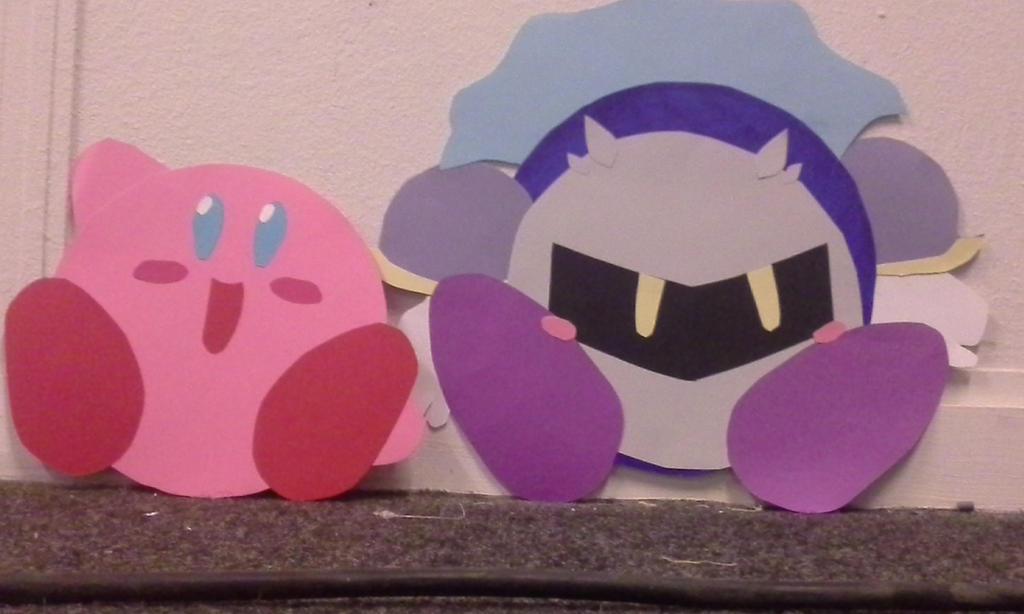 kirby x meta knight (yaoi made of paper) by Tomoyokawai on ...