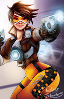Overwatch Tracer by RootisTabootus