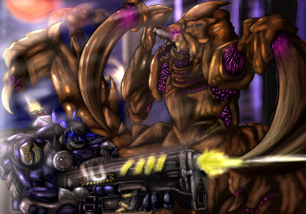 Zerg Rush! by Makarimorph on DeviantArt