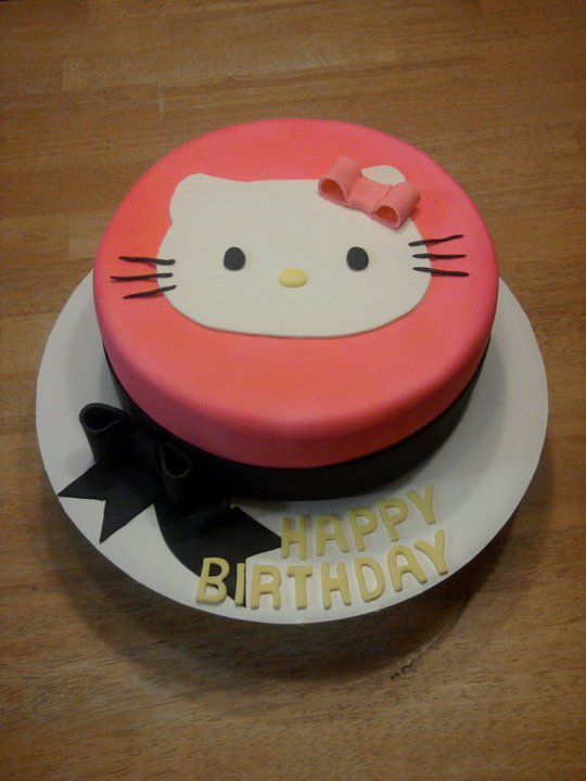 Hello Kitty Birthday Cake By Ckiecrumb On Deviantart