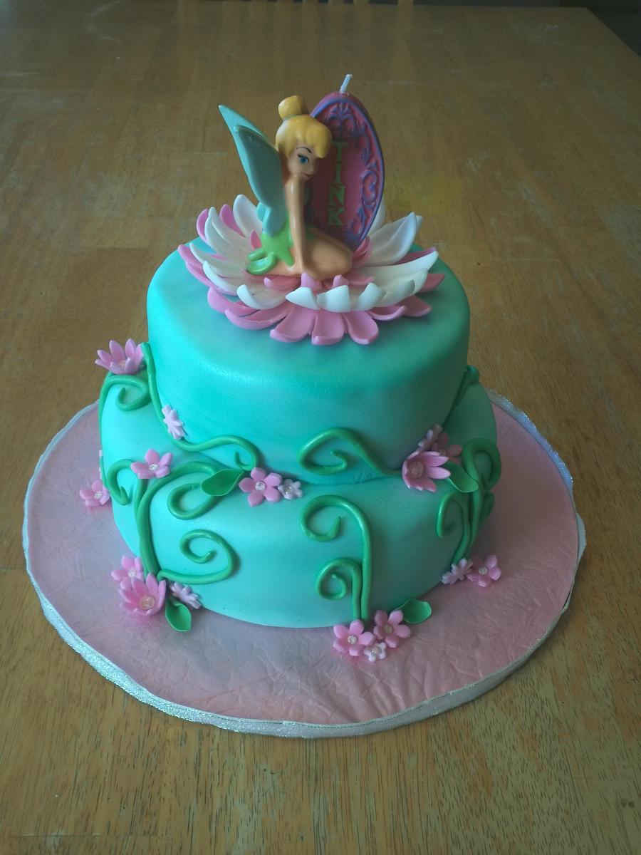 Tinkerbell Cake #2 by Ckiecrumb on DeviantArt