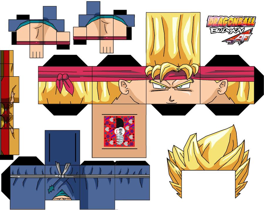 Goku Jr Ssj By GuitarGod On DeviantArt - Skin para minecraft de yugioh