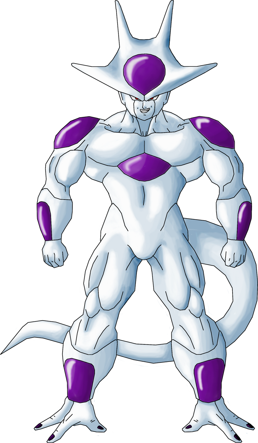 Frieza Fifth Form by Guitar6God on DeviantArt