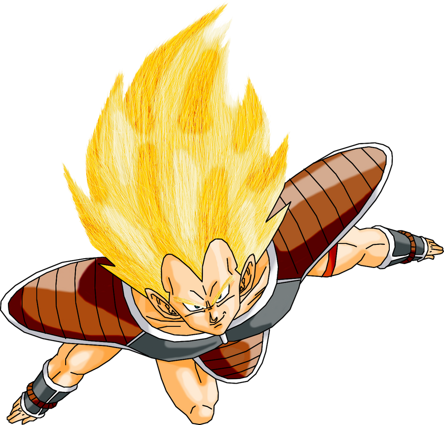Raditz Super Saiyan by Guitar6God