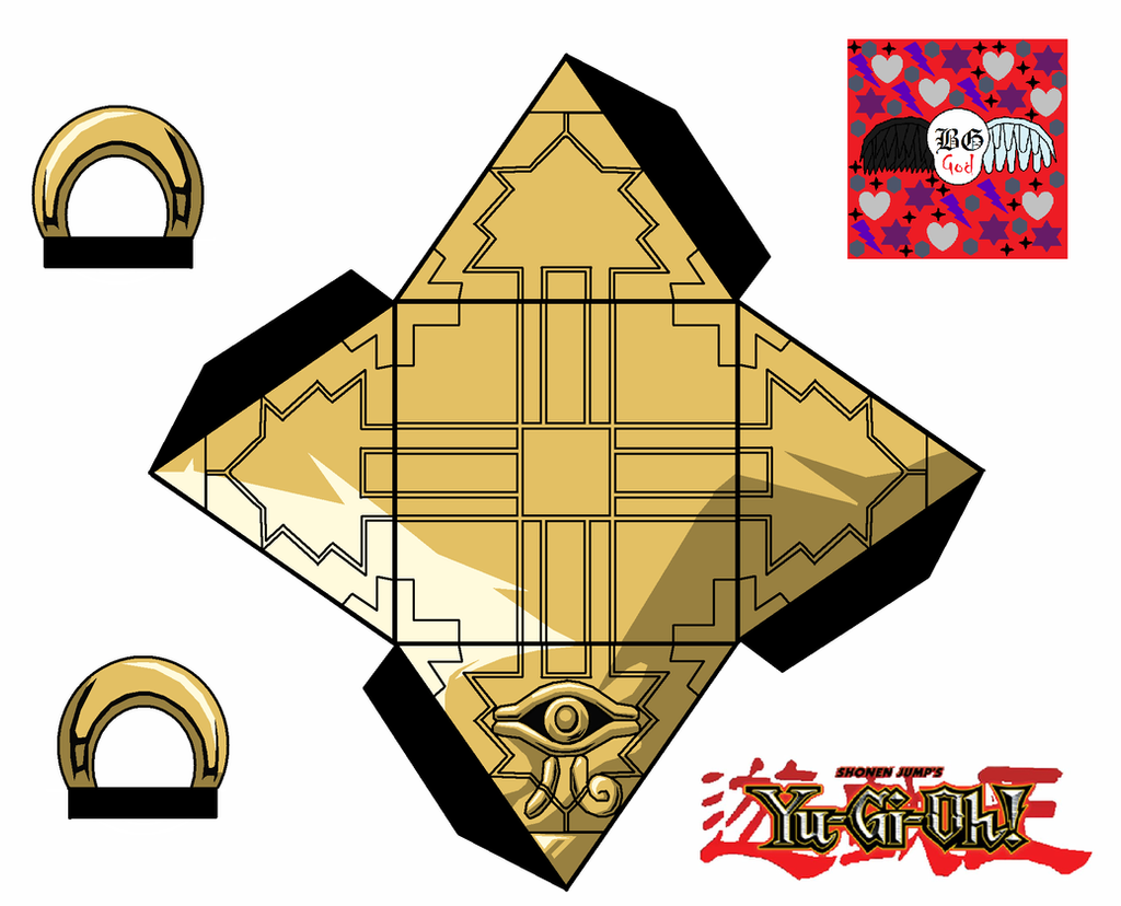 Millenium Puzzle by Guitar6God