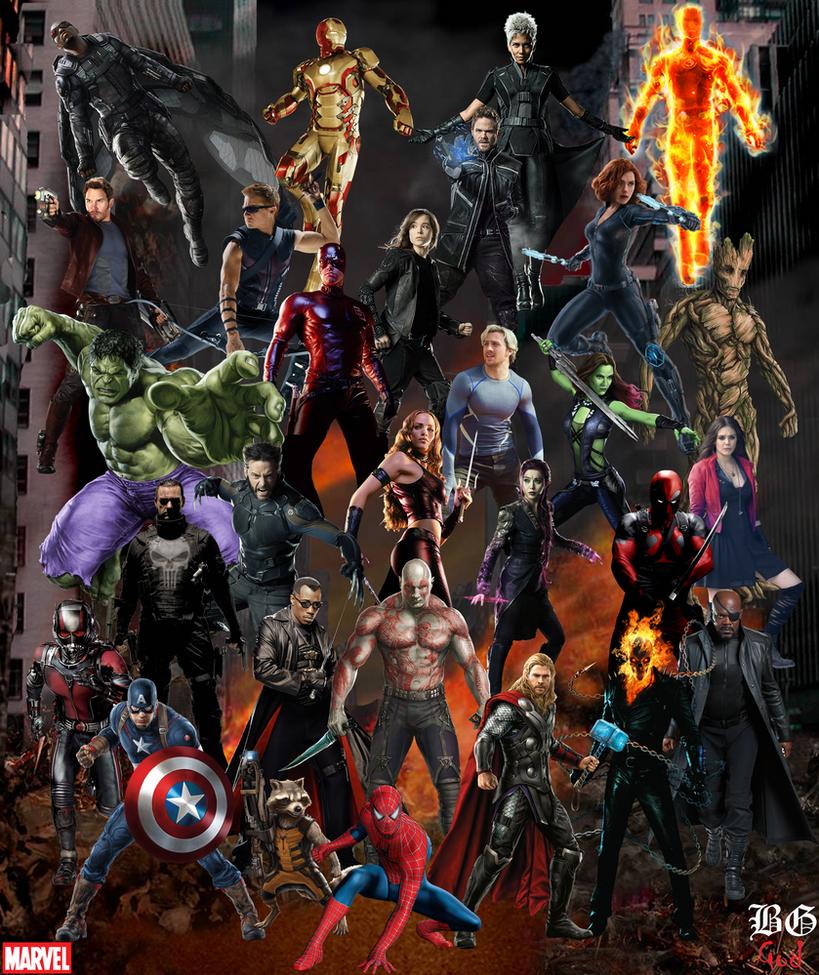 Marvel's Wallpaper by Guitar6God