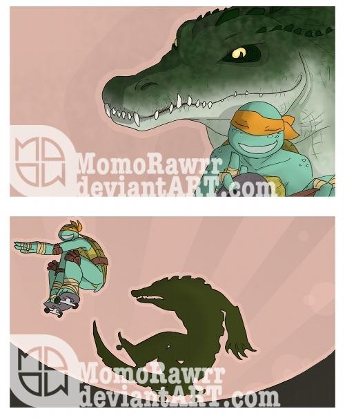 Skateboards as Rollerblades by MomoRawrr