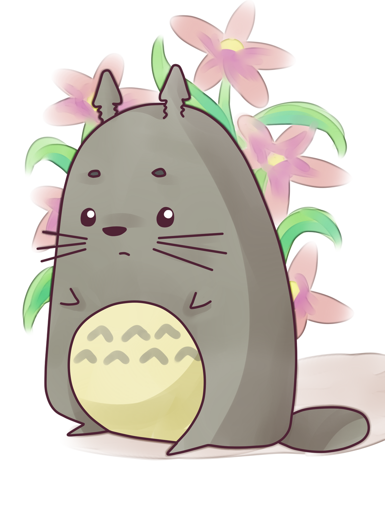 Totoro by Samaichan
