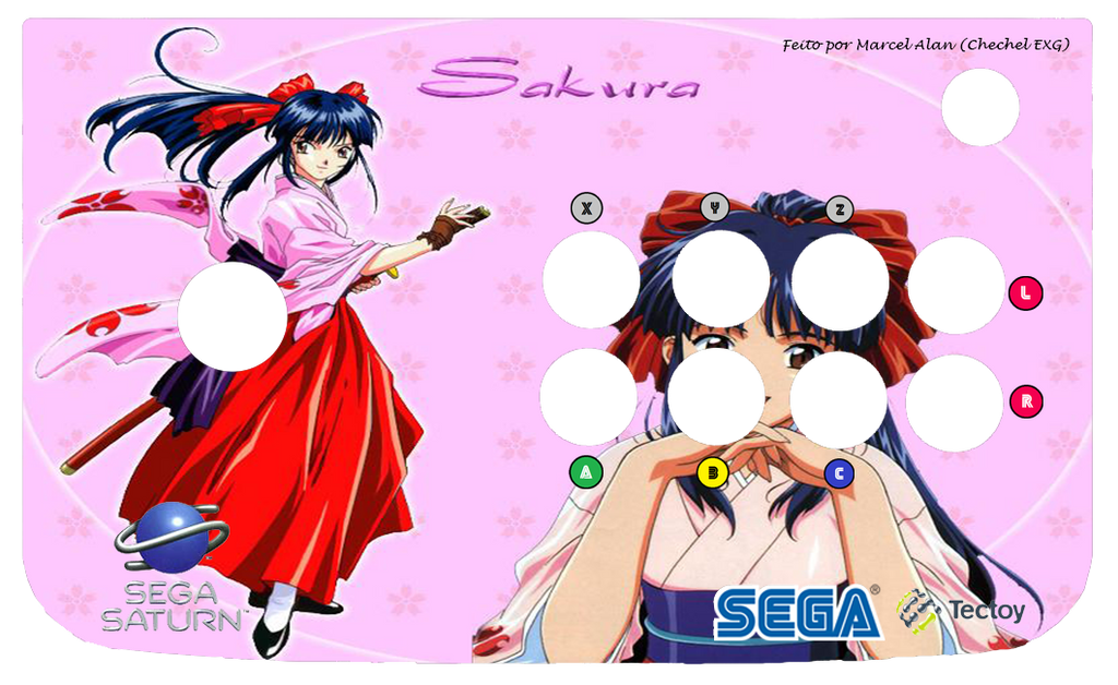 Sakura Taisen/Wars Arcade Art (Saturn) by ChechelEXGBR on DeviantArt