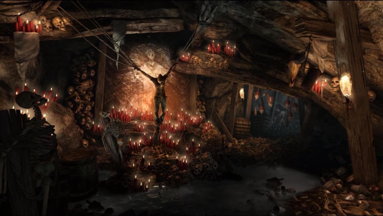 dreamscene tomb raider 2013 human sacrifice by