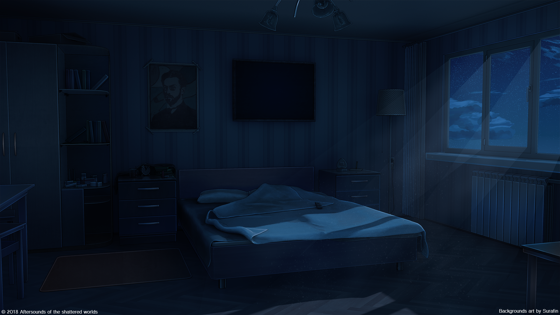 Bedroom Night By Surafin On Deviantart