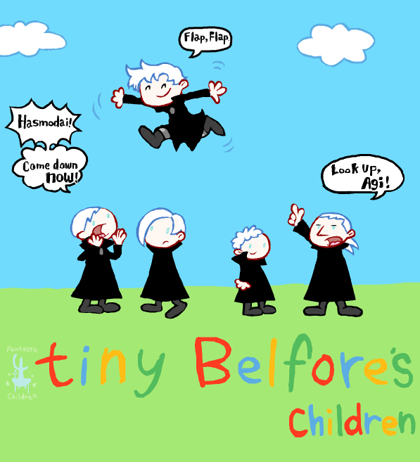 Tiny Belfores by rotto46