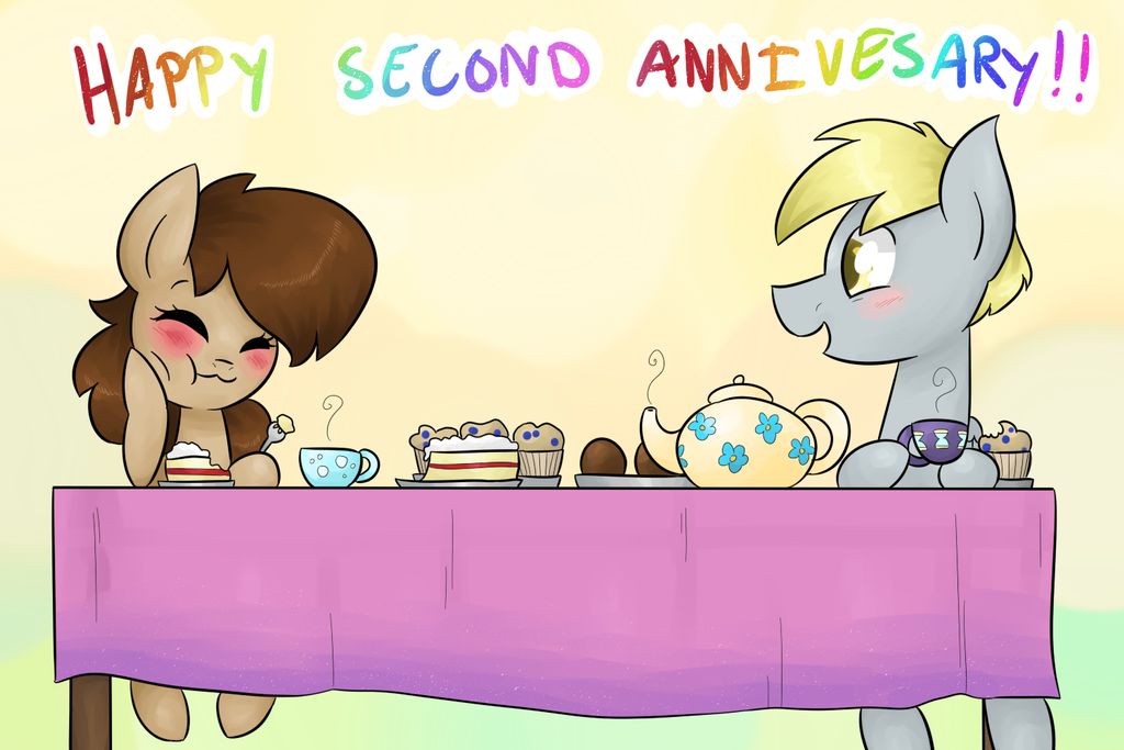 Second Anniversary by theluckyangel
