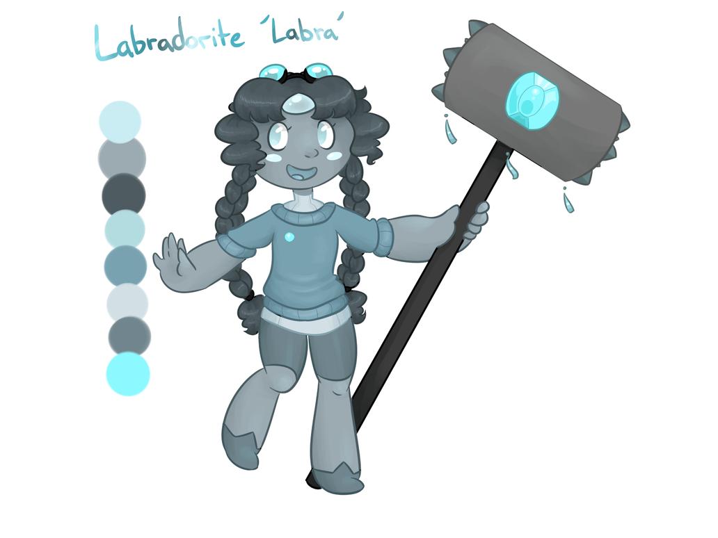 Gem oc - Labradorite by theluckyangel