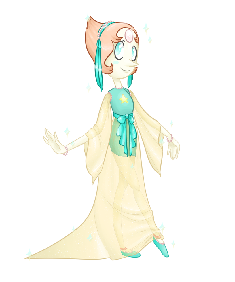 Fancy Pearl by theluckyangel
