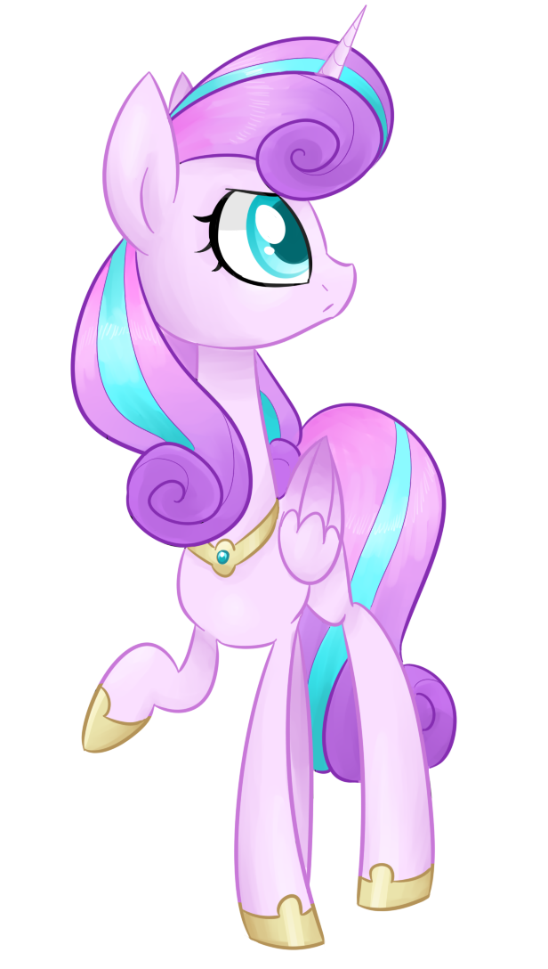 Princess Flurry Heart grown up by theluckyangel