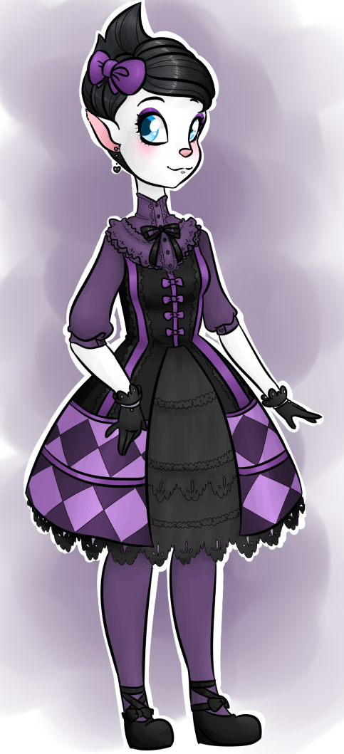 Gift art - Catherine in lolita by theluckyangel