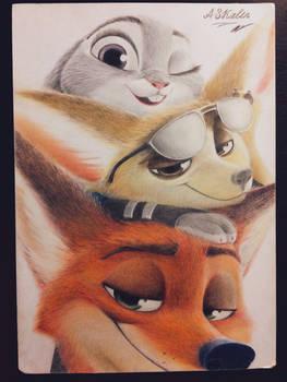 Nick, Finnick and Judy