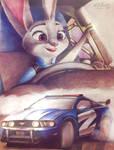 Judy drifts