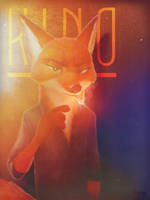 Nick Wilde crossover  by AndrejSKalin